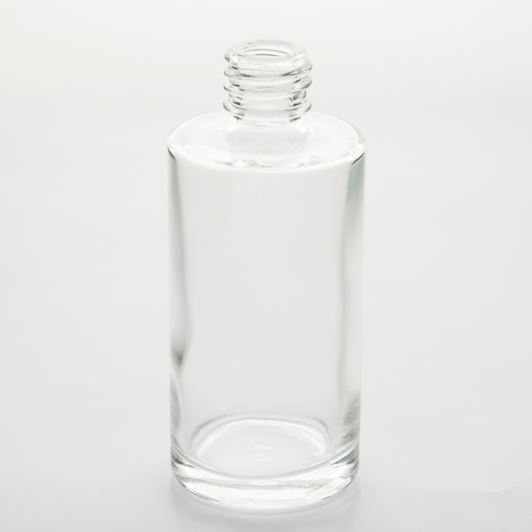 7e1847434324 2 oz (60ml) Clear Cylinder Bottle