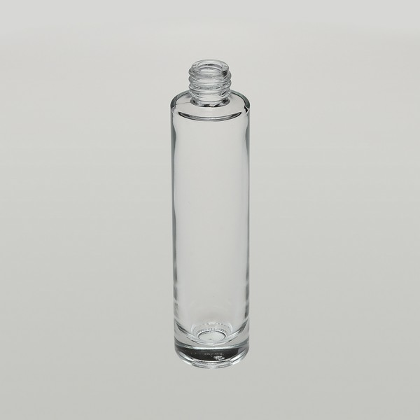 Bulkperfumebottles Com 1 7 Oz 50ml Slim Clear Glass Cylinder Bottle With Heavy Base Bottom 88 Pieces In A Case